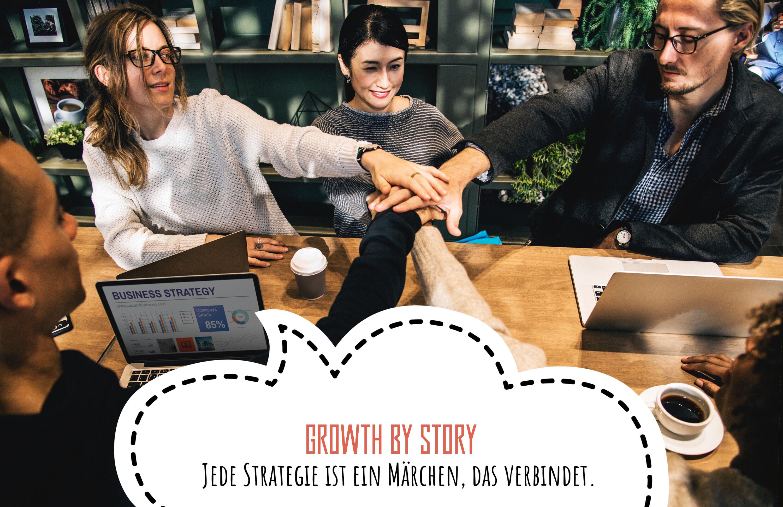 Jede Strategie ist ein Märchen, das verbindet.