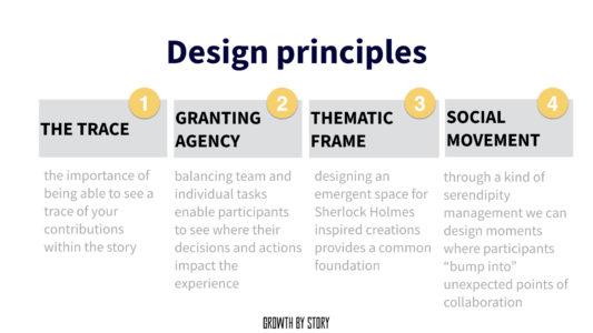 Design Prinzipien für ein Storytelling Game